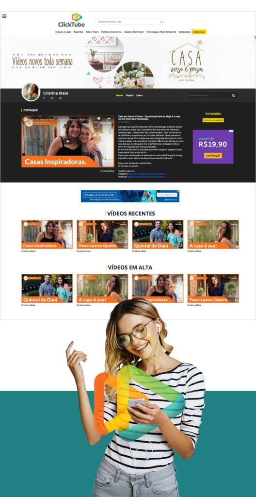 Vídeos Clicktube - Mobile