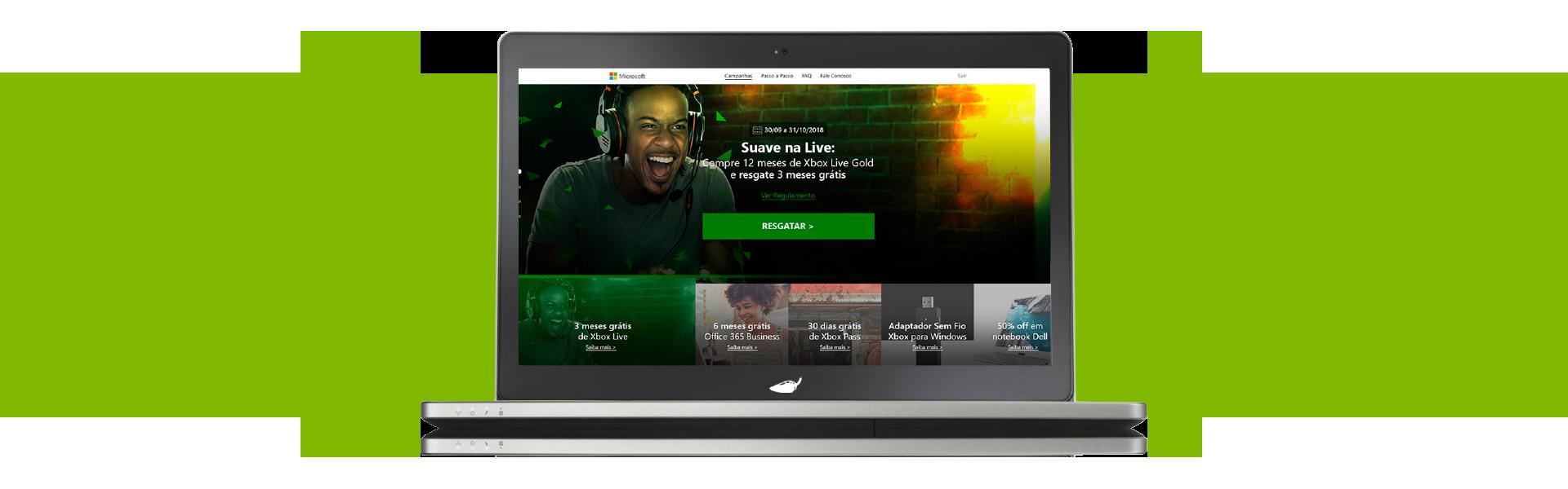 Plataforma de Resgate de Códigos Xbox