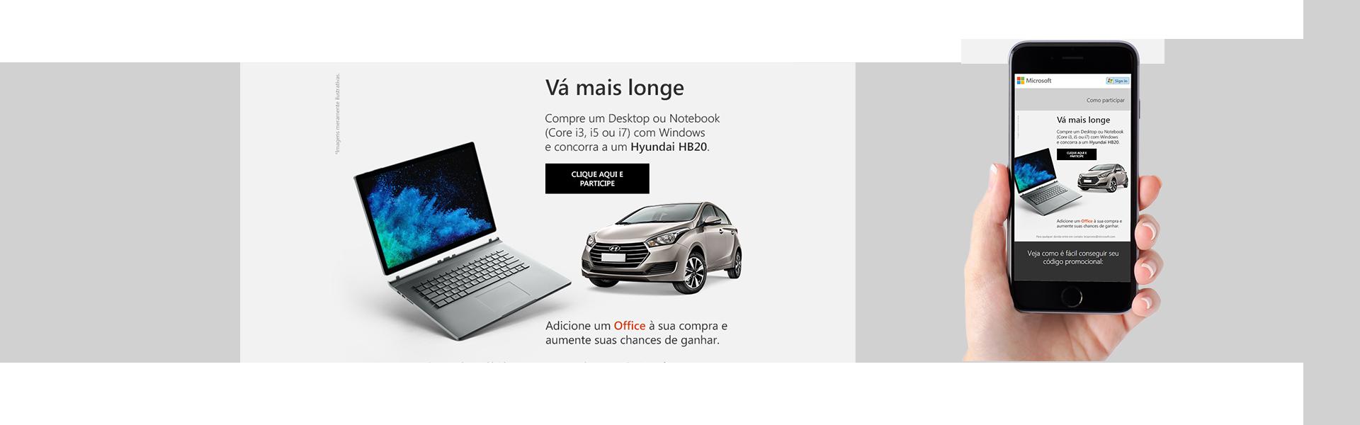 Resgate de Códigos Promocionais - Computadores - Microsoft