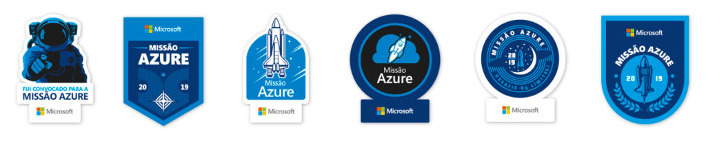 Stickers para notebook   Microsoft Azure