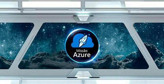 Banner para ação de endomarketing Microsoft Azure
