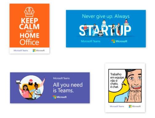 Adesivos Microsoft Teams