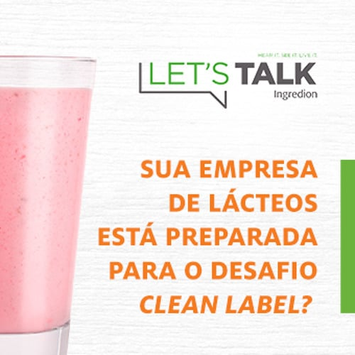 Criação de podcasts de lacteos Case Ingredion